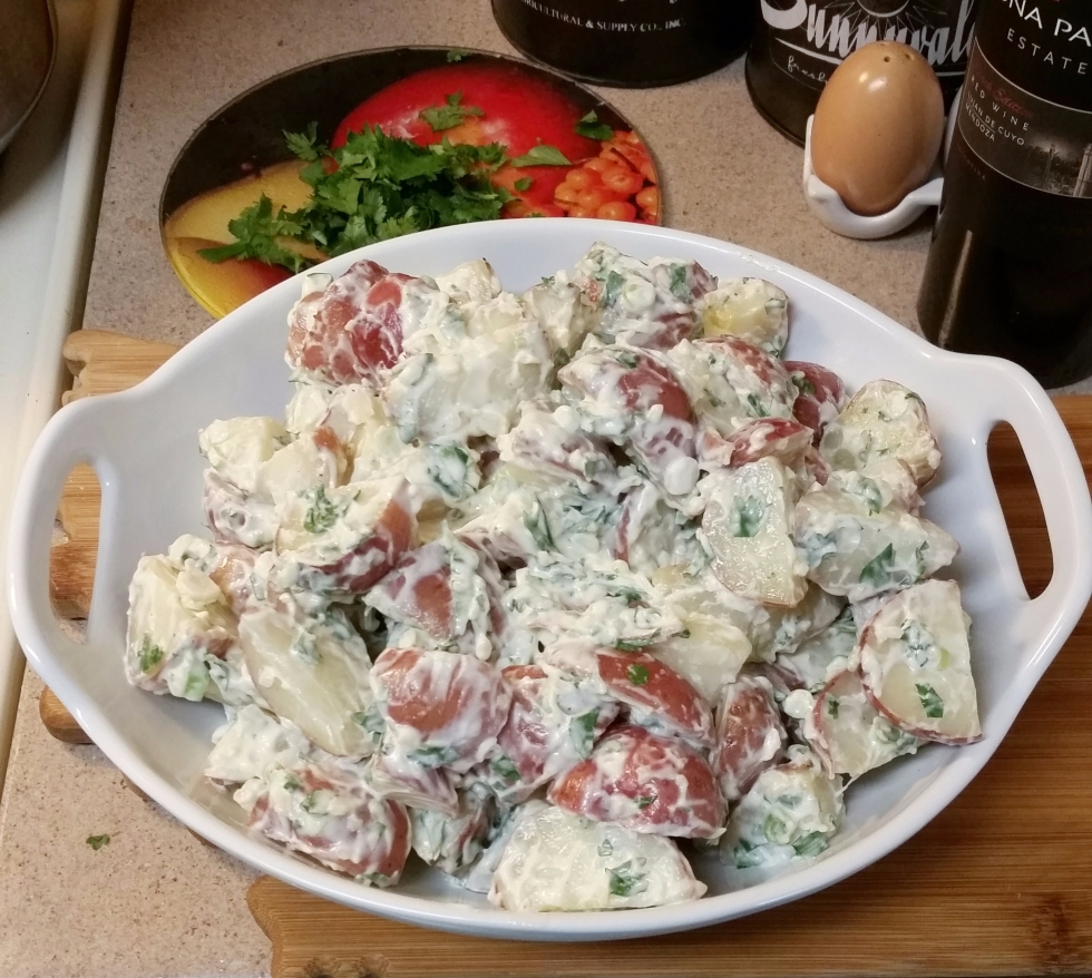 picture of potato salad